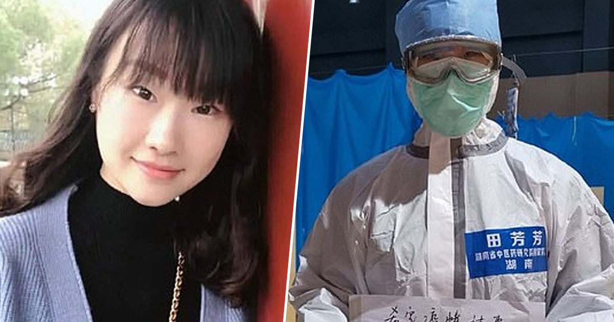 Nurse Wants China To Assign her A Boyfriend As Reward For Fighting Coronavirus