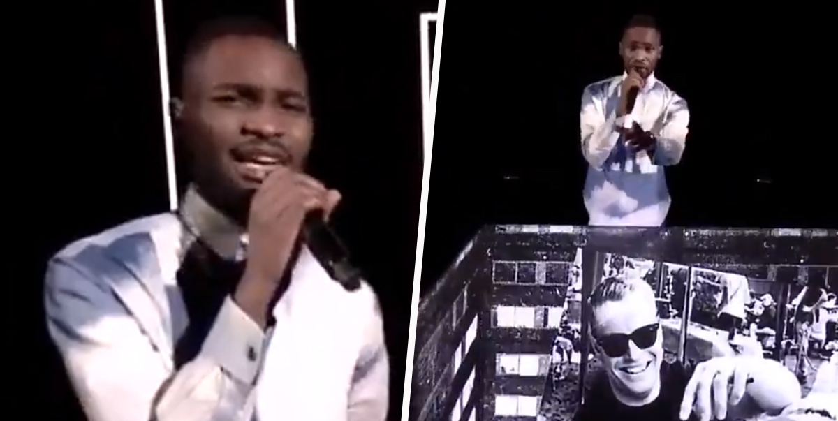 Dave Raps Boris Johnson Is 'A Real Racist' In Powerful BRITs Performance
