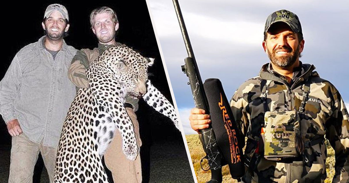 Seven-Day Trophy Hunting Trip With Donald Trump Jr. Sells For $150,000