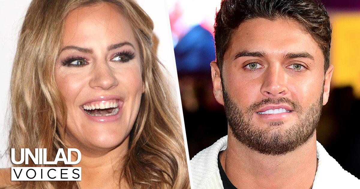 Caroline Flack and Mike Thalassitis