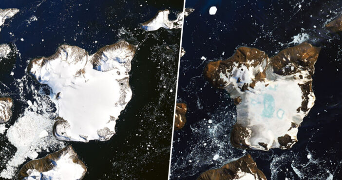 Antarctic Heatwave Melted 20% Of An Islands Snow In Nine Days