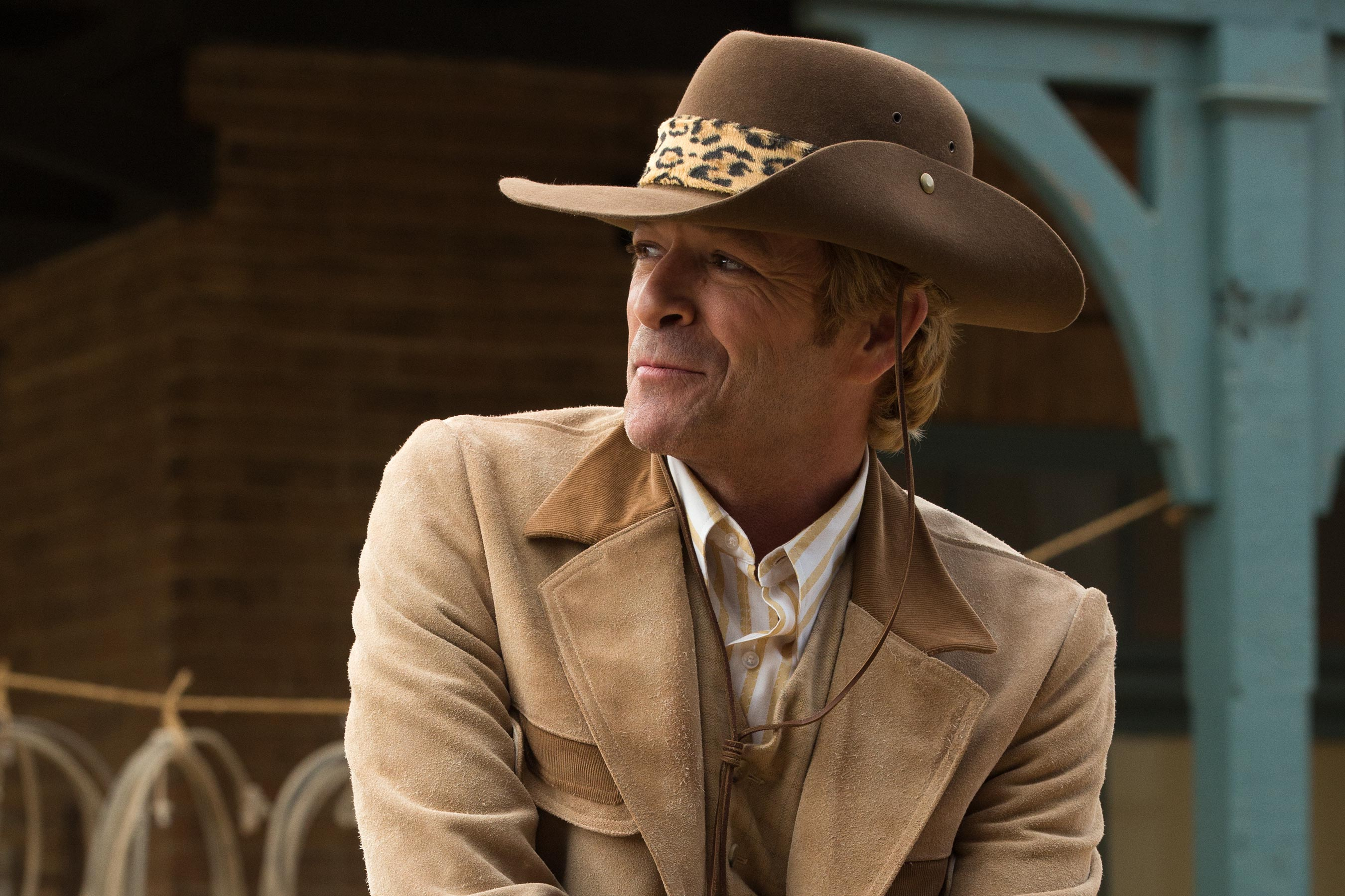 Luke Perry stars in ONCE UPON A TIME IN HOLLYWOOD.