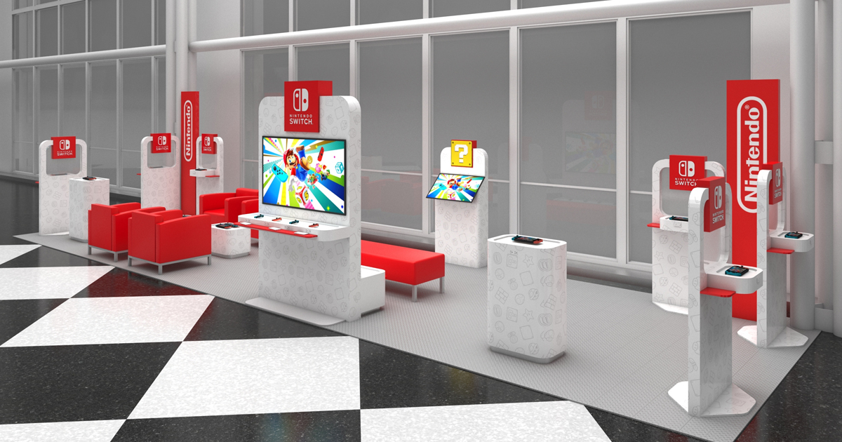 Nintendo Launches Nintendo Switch Airport Lounges