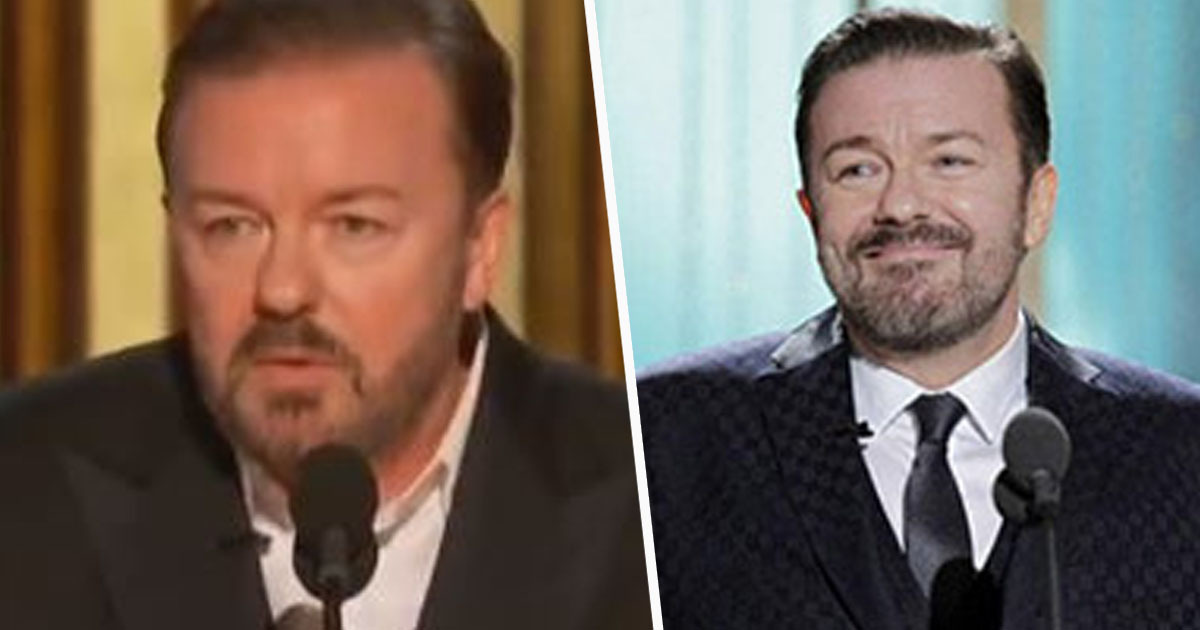 Ricky Gervais's 'Opening Oscars Joke' Has People Wishing He Was Hosting Tonight