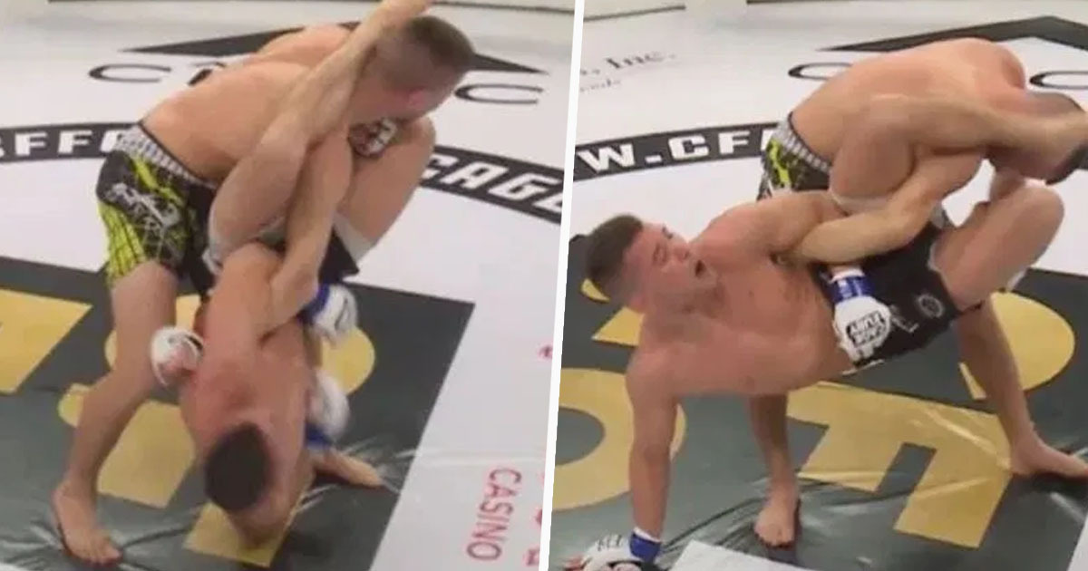 MMA fighter suffers horrendous arm injury