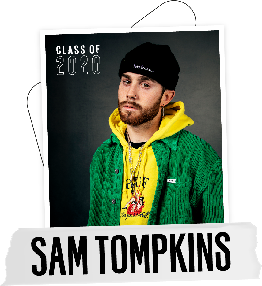 Sam Tompkins UNILAD Next Up 2020