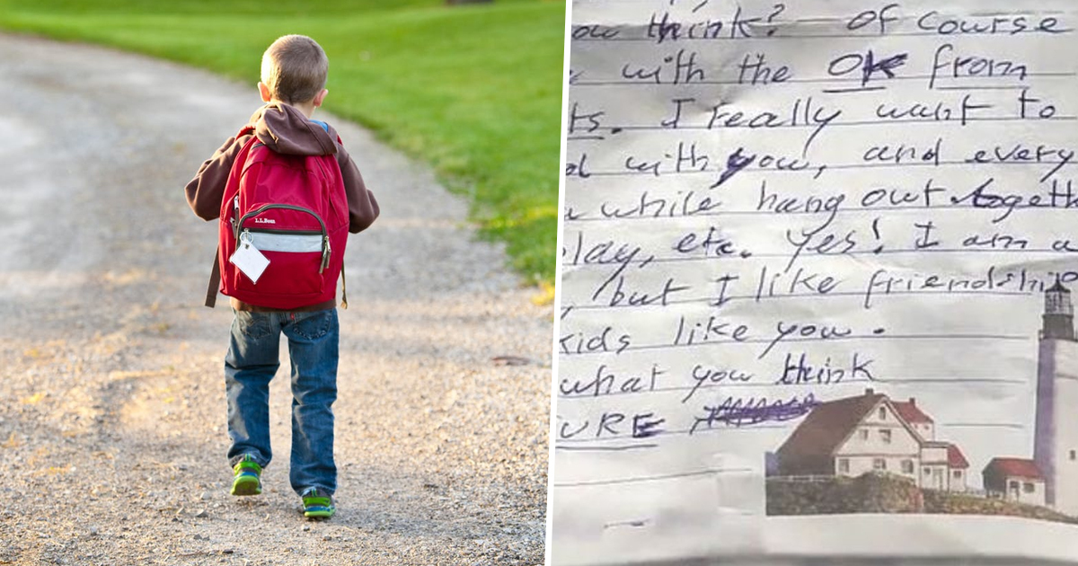 Oklahoma Mum Warns Other Parents After Finding 'Creepy' Note In Son's School Bag