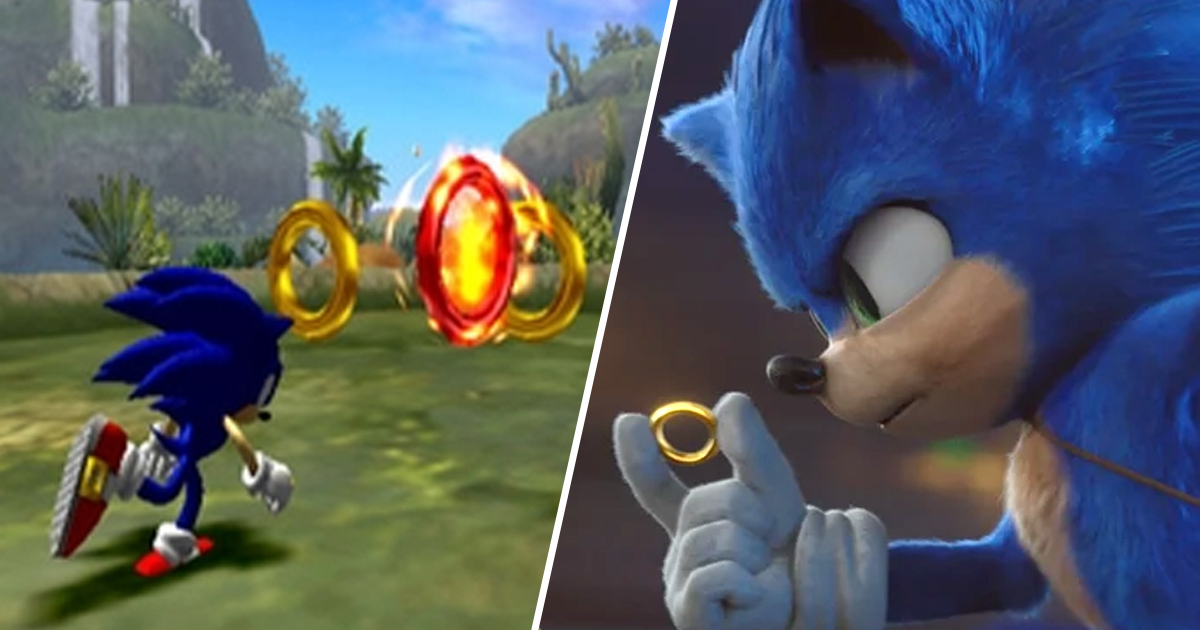 The Sonic Movie Finally Explains The Game S Gold Rings Unilad
