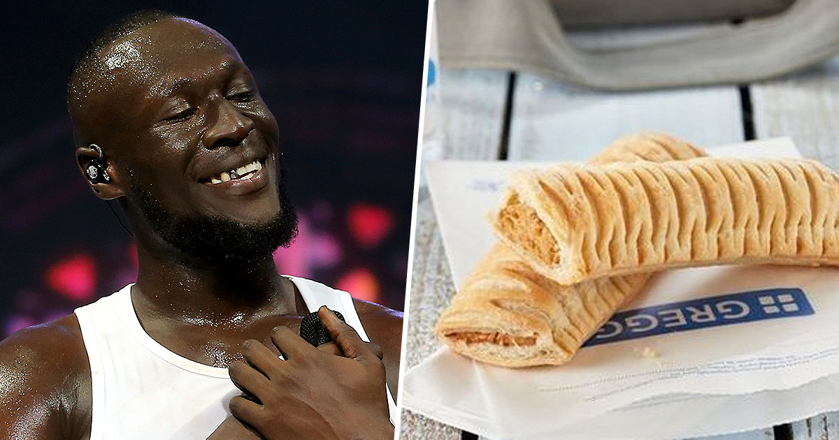 Stormzy Honoured With First Ever Greggs Black Card And Unlimited Free Delivery