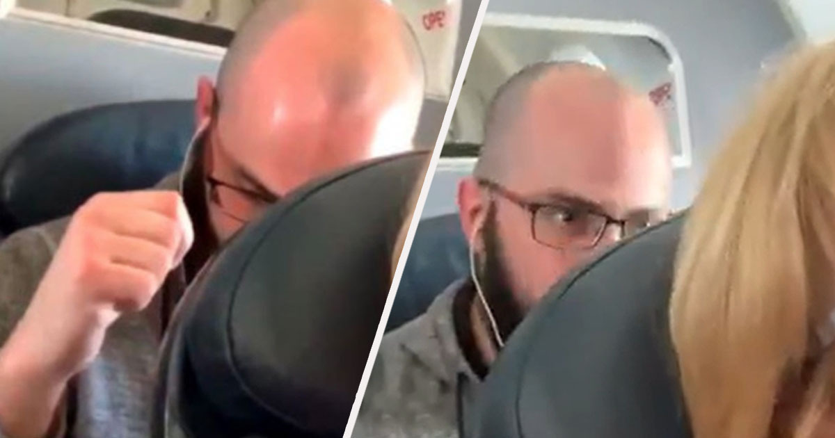 Man Repeatedly Punches Woman's Plane Seat After She Reclines Because His Won't