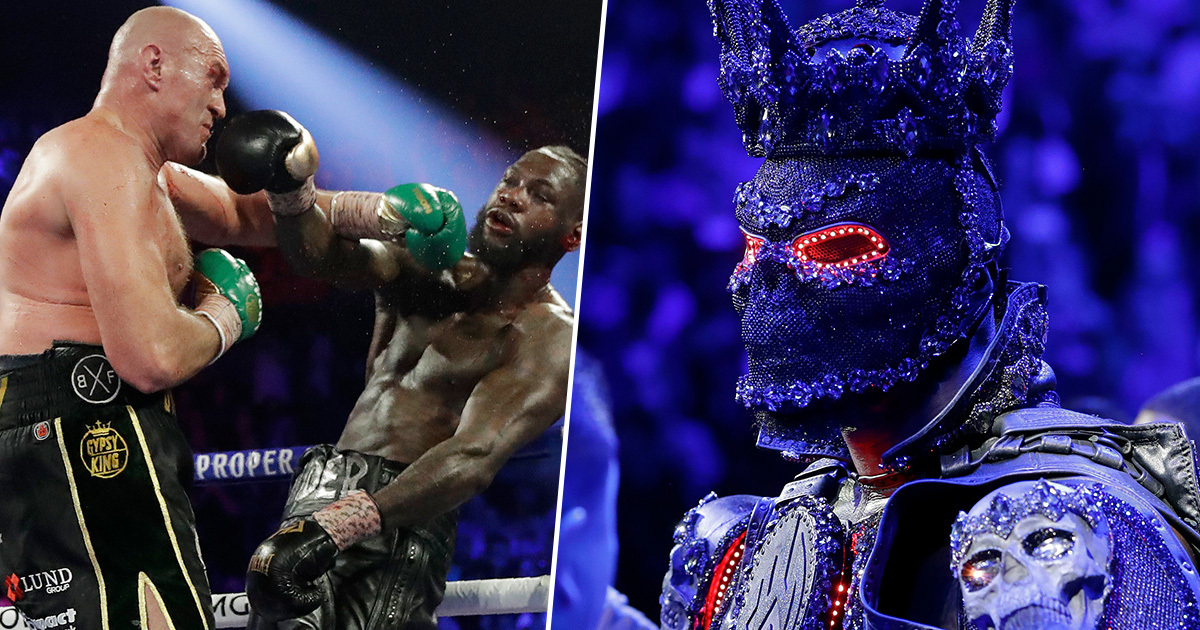 Deontay Wilder Claims His Costume 'Left His Legs Dead' Before Tyson Fury Fight