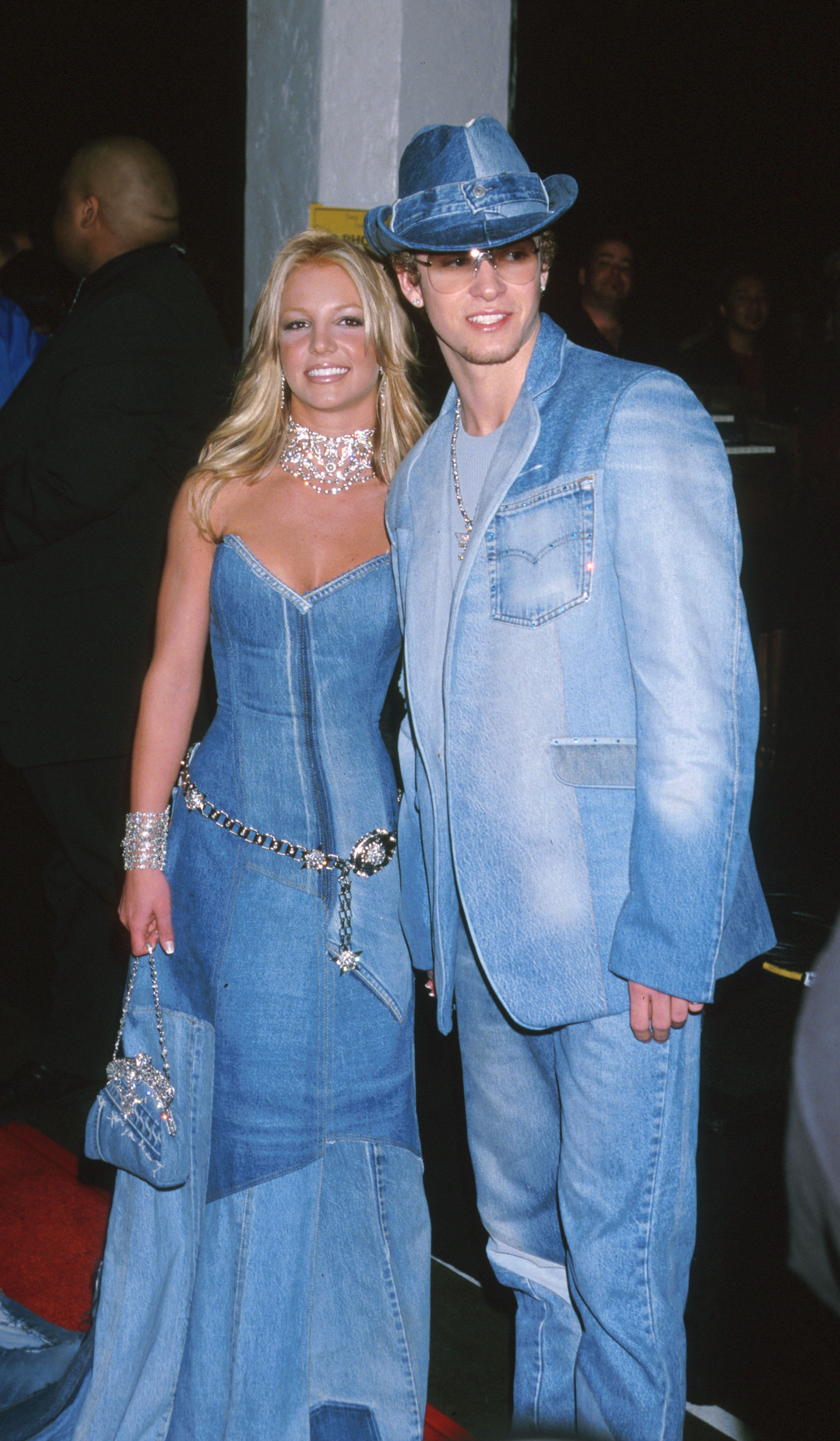 Justin Timberlake and Britney Spears double denim