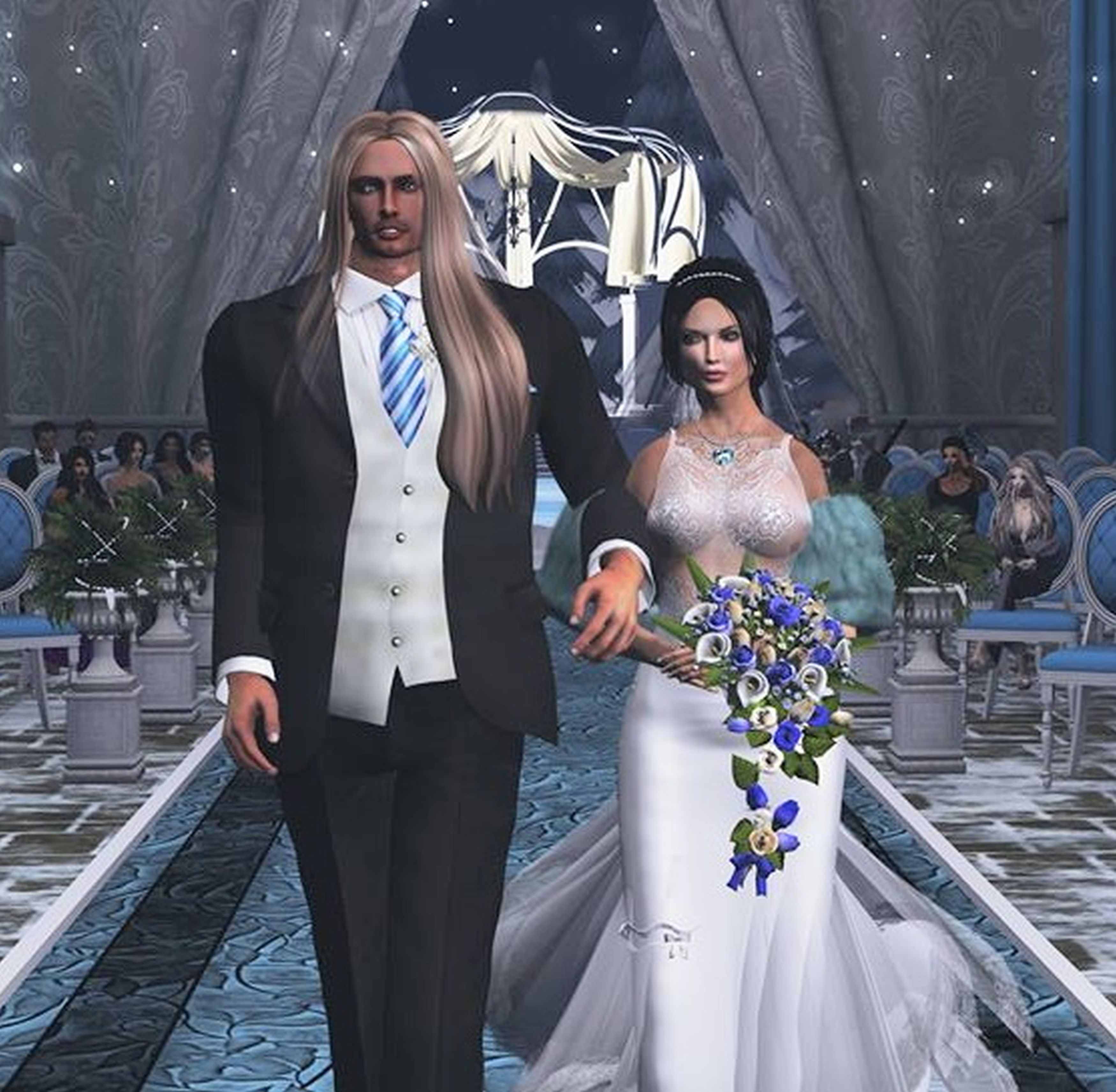 Gaming couple marry