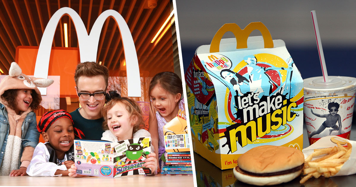 McDonald's Scrapping Plastic Toys In Happy Meals From Next Year