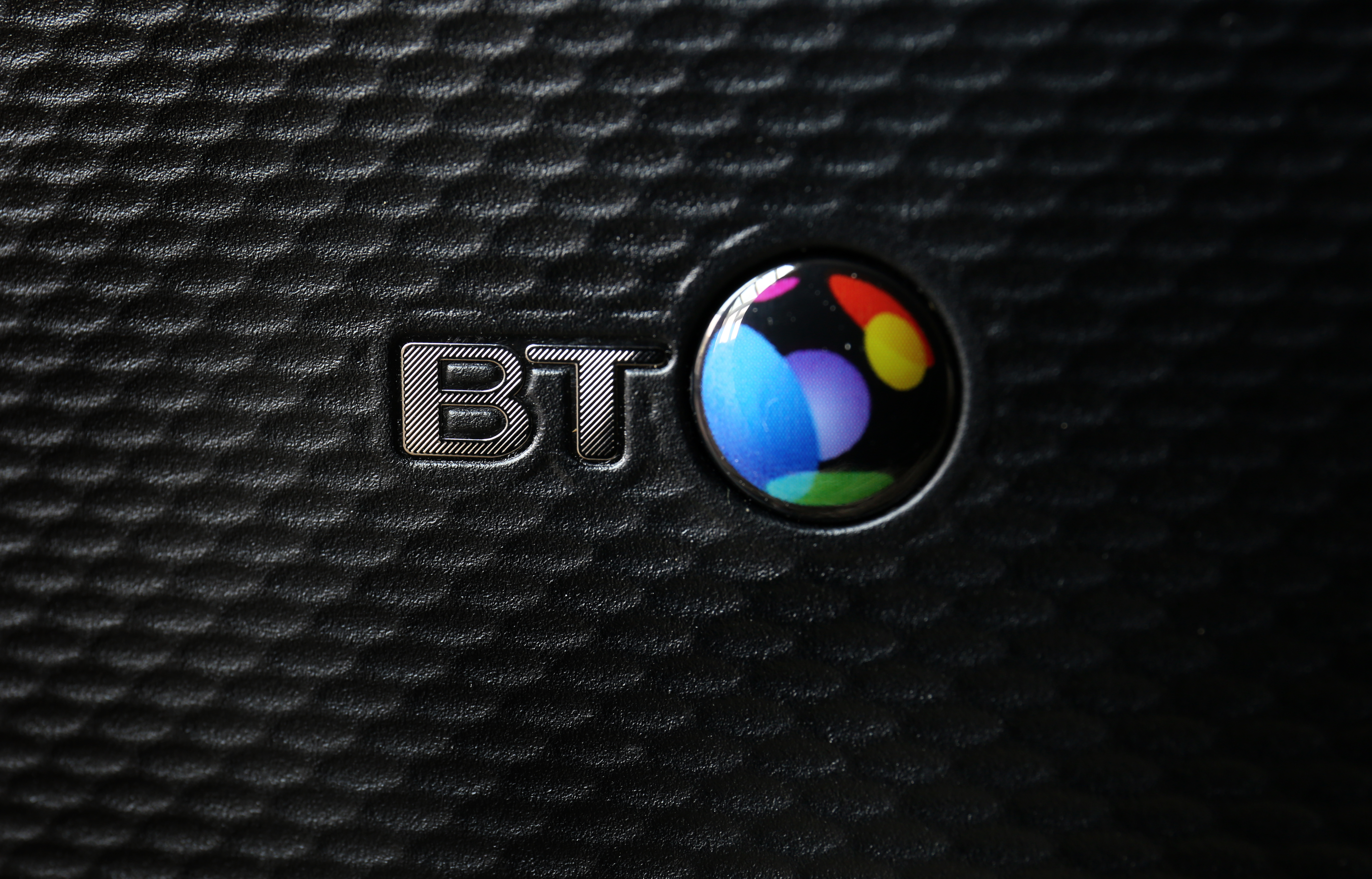 Stock picture of a BT infinity router.