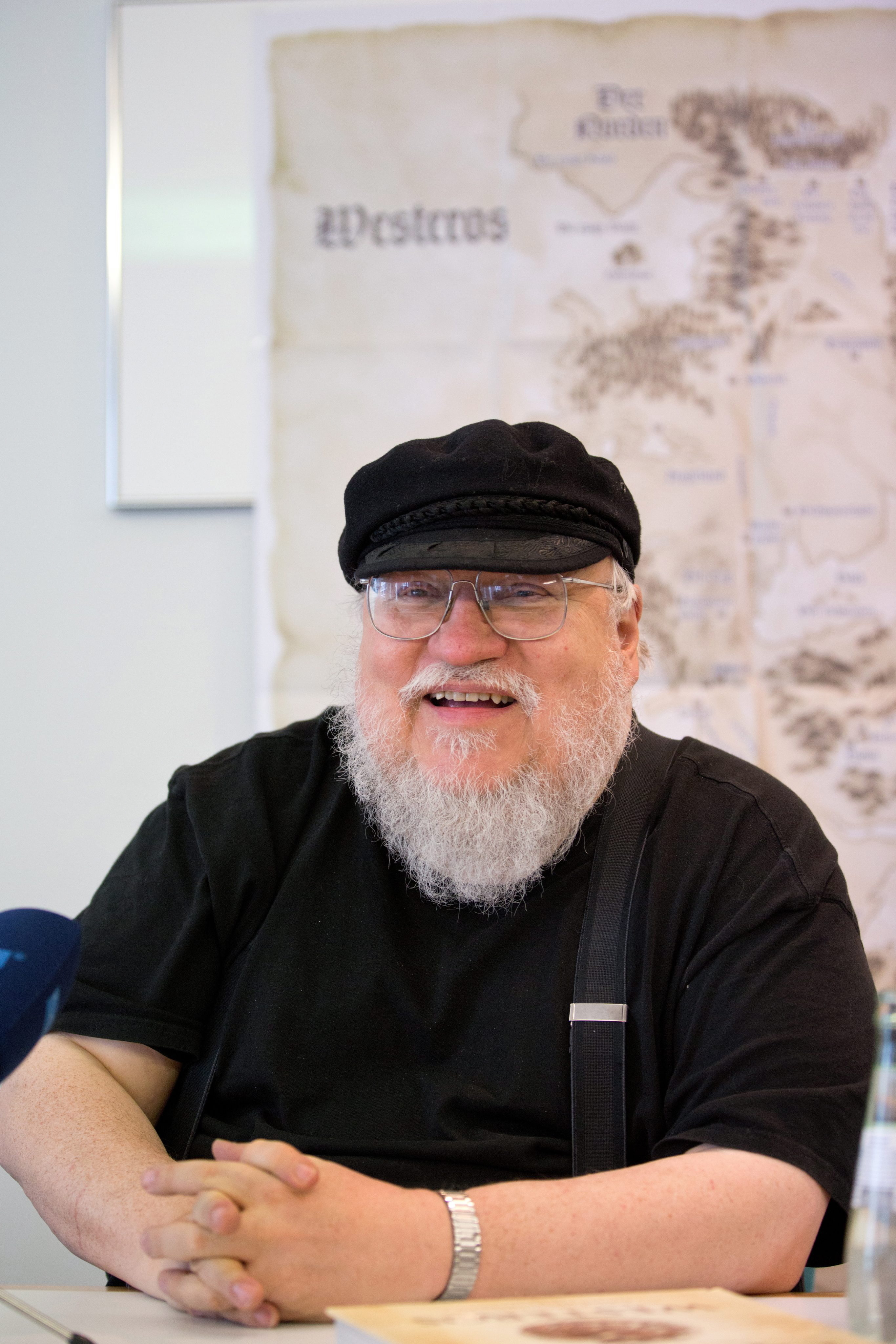 George R. R. Martin Is In Self-Isolation And Is Finally Finishing Game Of Thrones Books