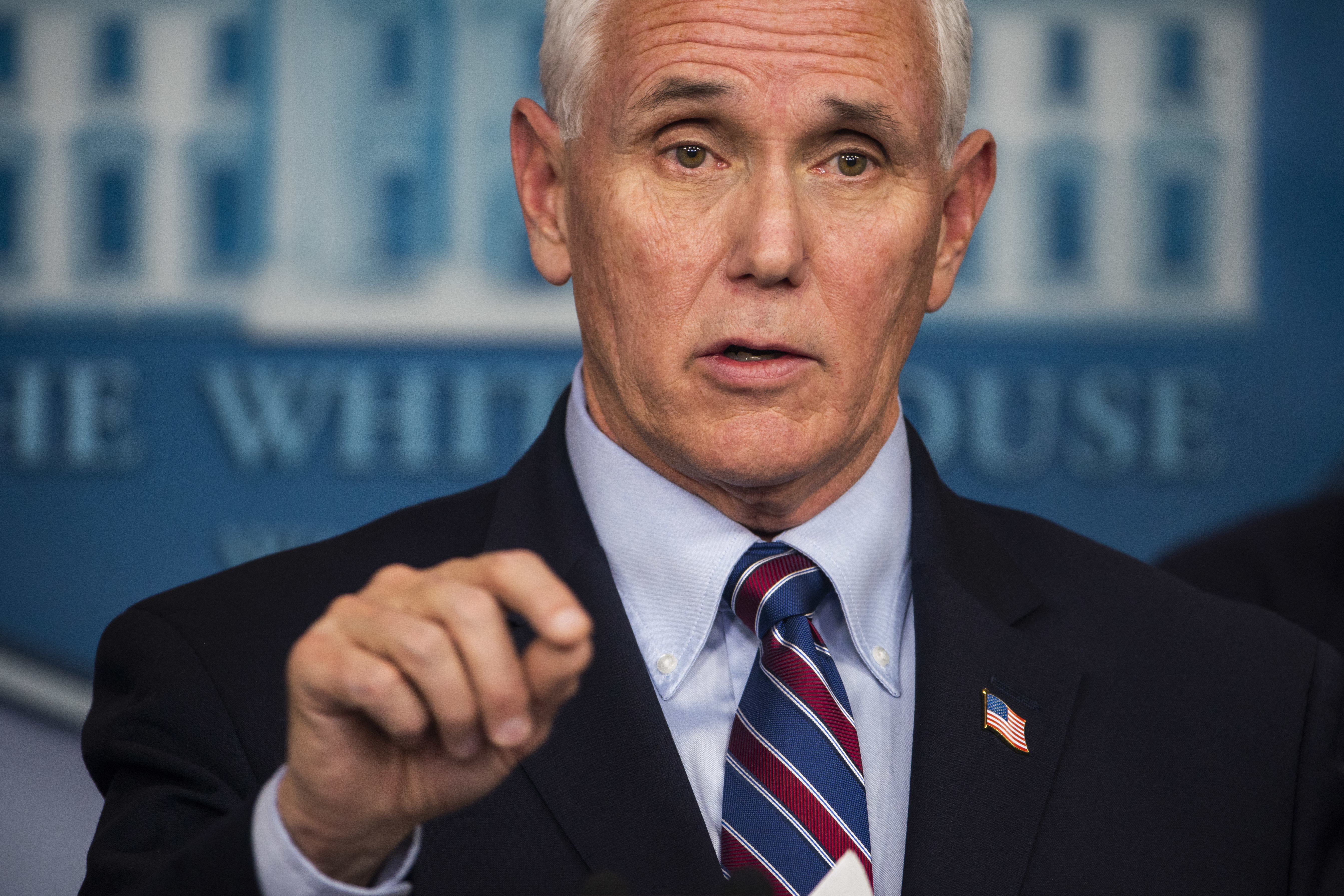 Mike Pence at White House press conference