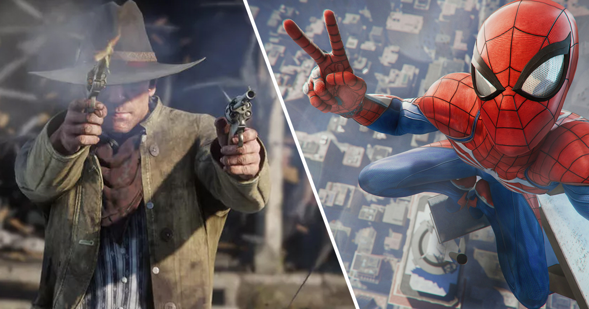 PS5 100x Faster Than PS4 Red Dead 2 Spider-Man Thumbnail