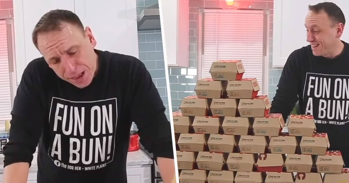 Guy Eats 32 Big Macs In One Sitting To Set New World Record