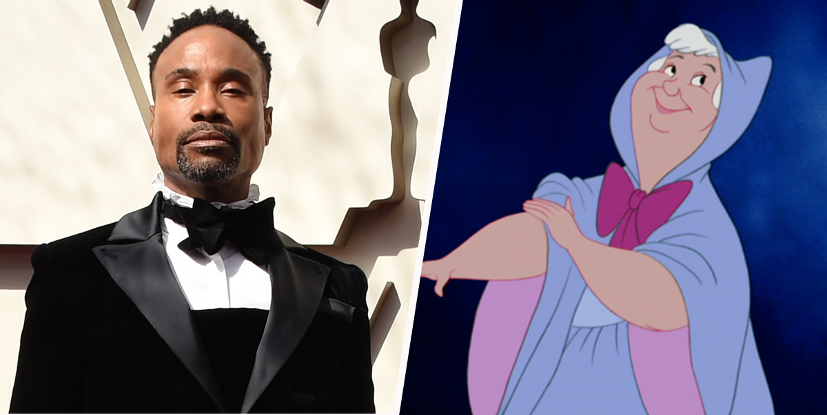 Billy Porter's Fairy Godmother Will Be 'Genderless' In Sony's New Cinderella Movie