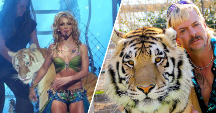 Britney Spears' Fans Stunned After Spotting Her With Tiger King's Doc Antle And Carole Baskin