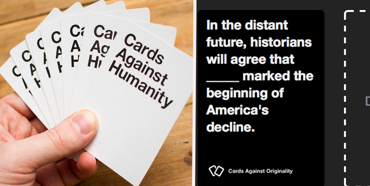 You Can Play Cards Against Humanity With Your Mates From Isolation