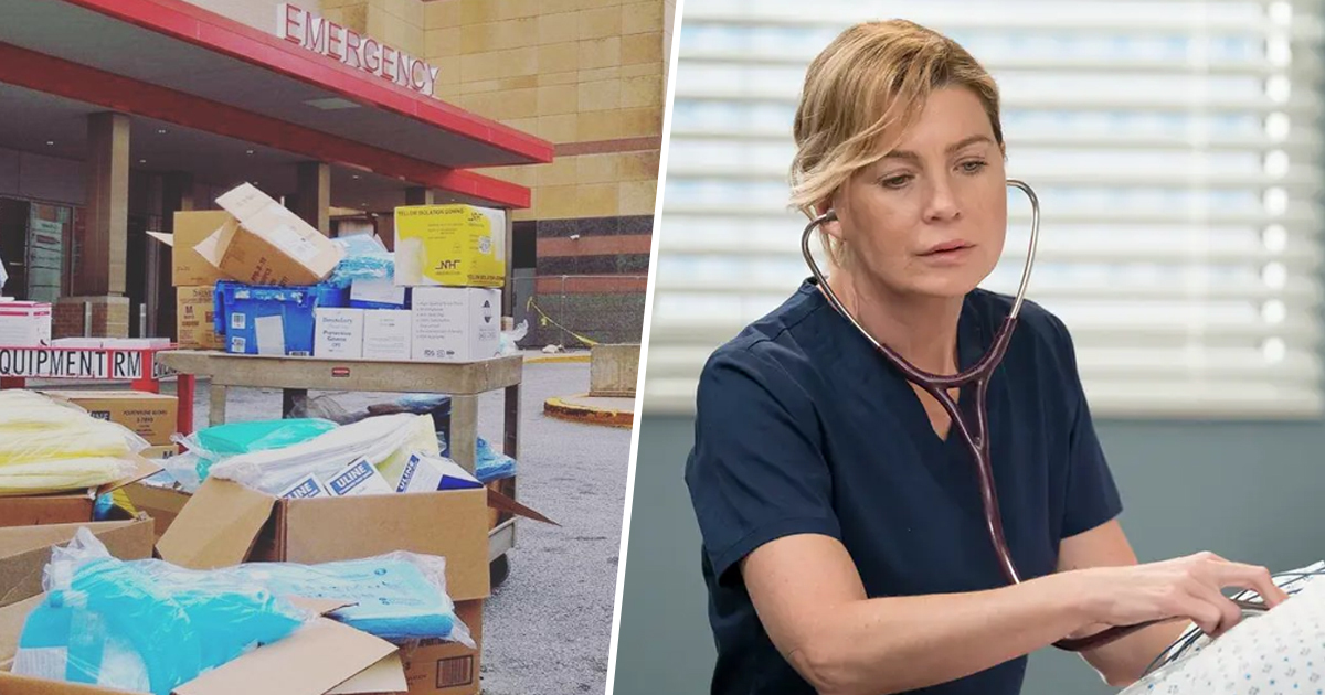 Grey's Anatomy Donating Extra Masks And Equipment To Real Hospitals
