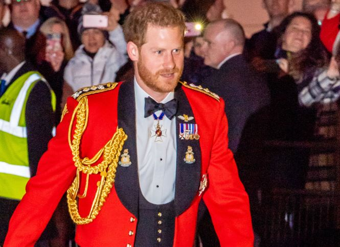 Prince Harry crowned Red Hot Man of the Year