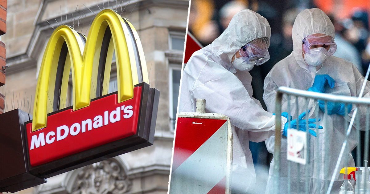 All McDonald's In UK To Close By 7PM Tonight