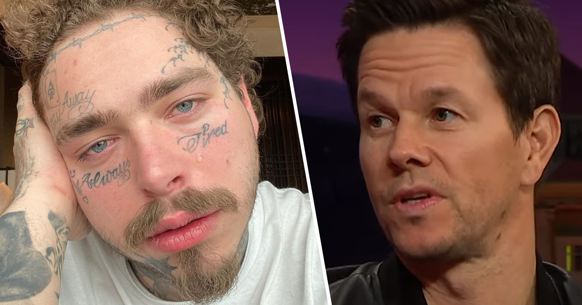 Mark Wahlberg Says He Tried To Warn Post Malone To Stop Getting Tattoos Unilad