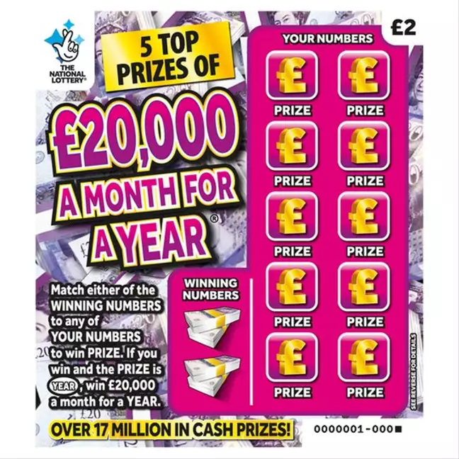 Teen Wins £240,000 On Scratch Card But Won't Celebrate Until Isolation Ends
