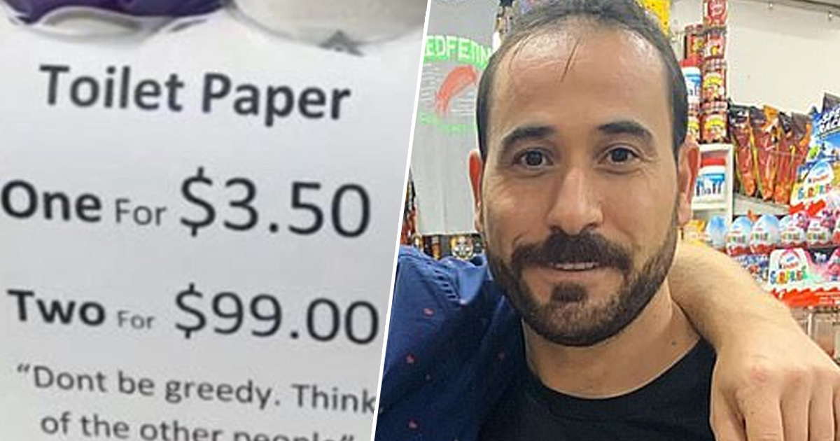Sydney Shopkeeper Uses Genius Trick To Stop People Hoarding Toilet Roll