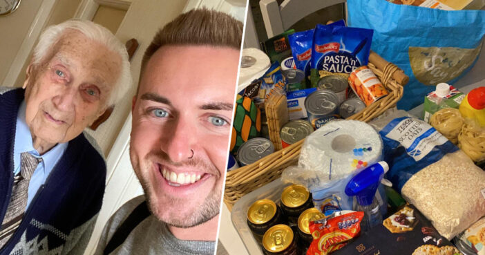 Essex Tesco Worker Delivers Food To 99-Year-Old Man With No Food