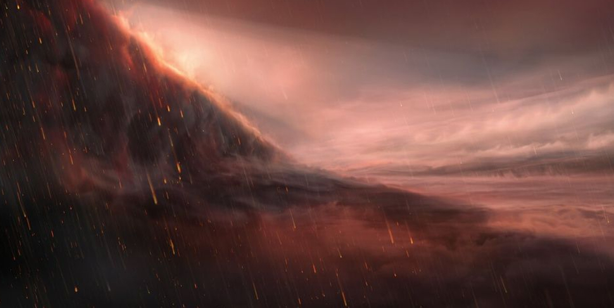 Scientists Discover New Planet Where It Rains Iron
