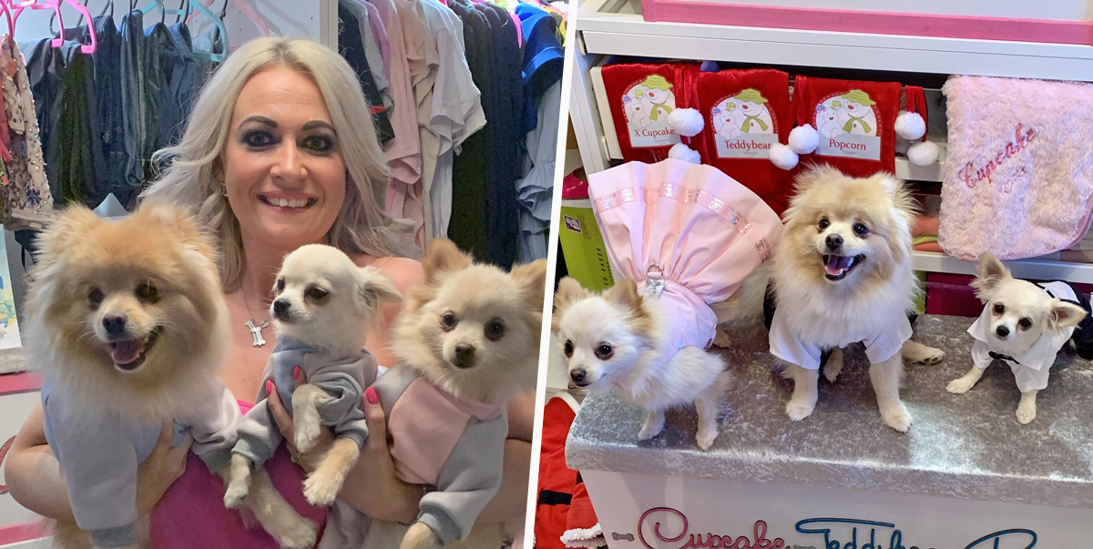 Woman Spends 13k A Year On Designer Clothes, Gourmet Food And Gifts For Her Dogs