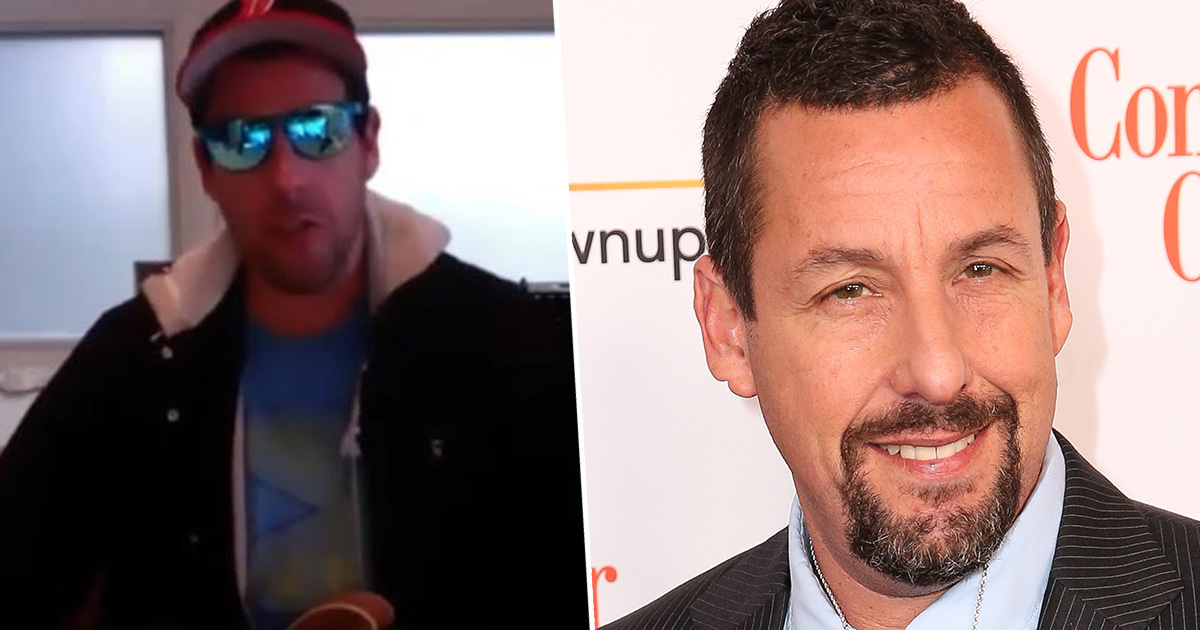 Adam Sandler Performs Hilarious New Song Celebrating Health Workers