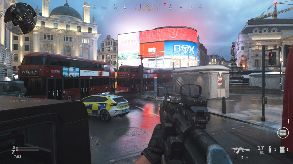 Call of Duty Modern Warfare Piccadilly 2