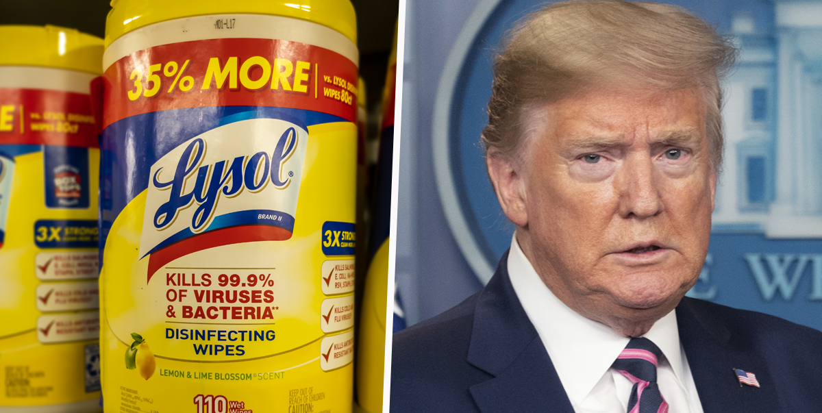 Company Behind Dettol and Lysol Denounce Trump's Advice As Bleach Poison Reports Surge In US