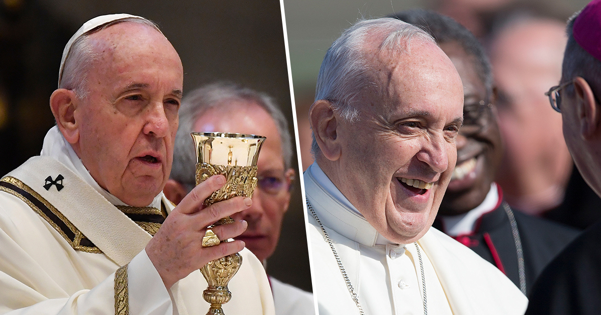 Pope Jokes Whisky Is 'The Real Holy Water' With Scottish Student Priests