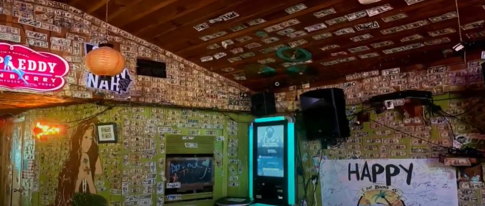 Bar Owner Takes Down Nearly $4,000 Of Bills Stapled To Walls To Pay Staff Who Lost Jobs