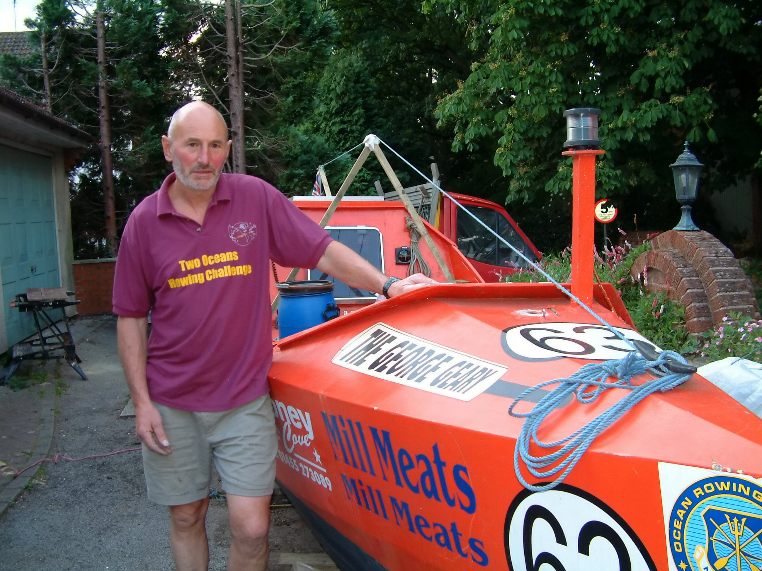72-Year-Old Man Rows Across Atlantic Alone In Just 96 Days