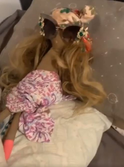Mum makes doll to teach her son a lesson after he sneaks out during quarantine