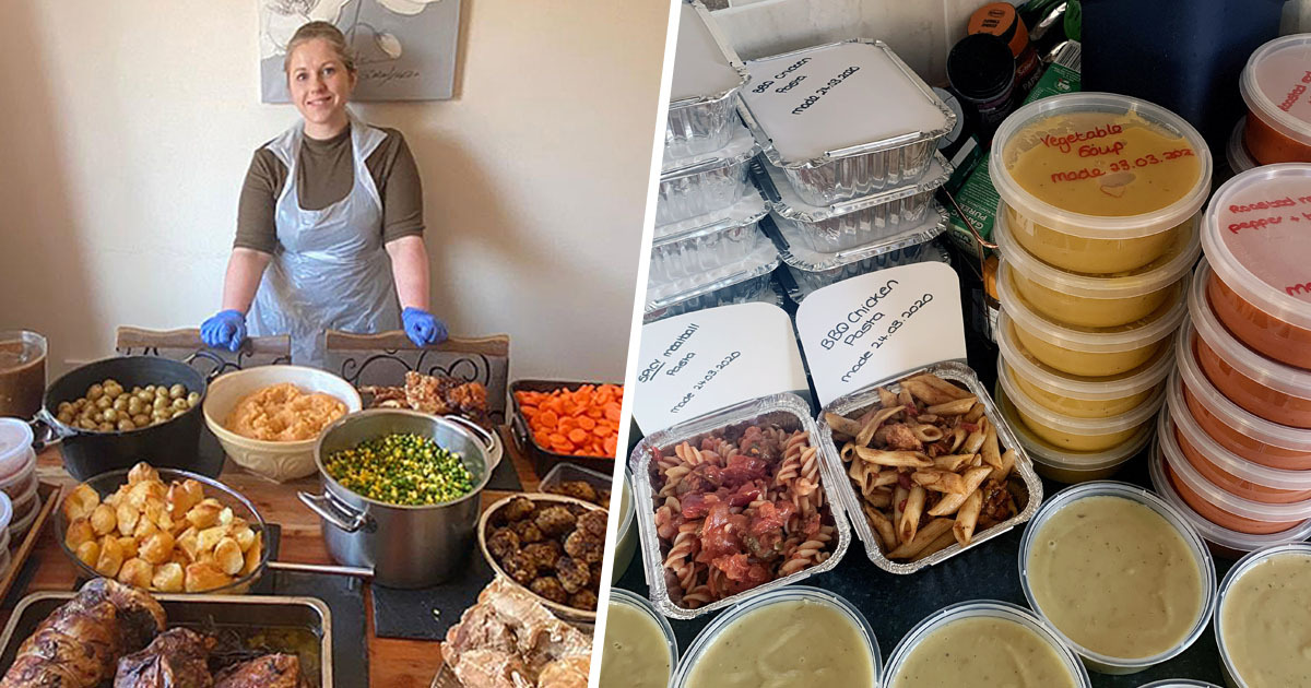 Dorset Mum Spends Isolation Cooking 80 Meals A Day For Vulnerable People