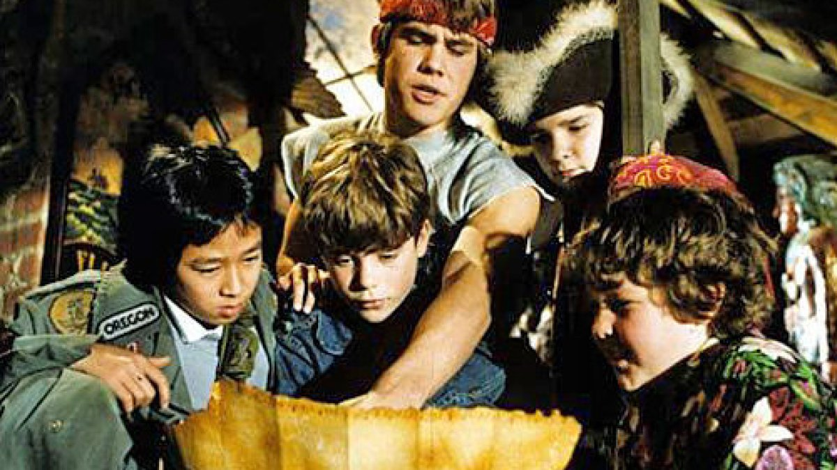 Goonies Cast Reenact Iconic Scenes From Film During Virtual Reunion