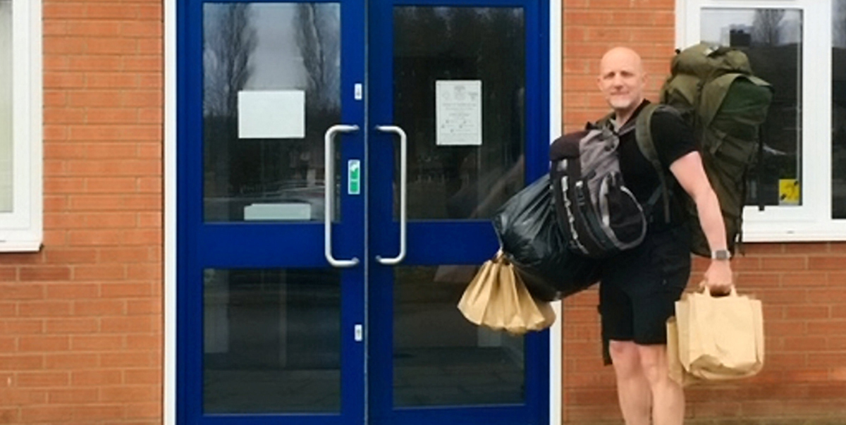 Hero Assistant Headteacher Walks Miles Daily To Deliver Free School Lunches To Kids Of Struggling Families