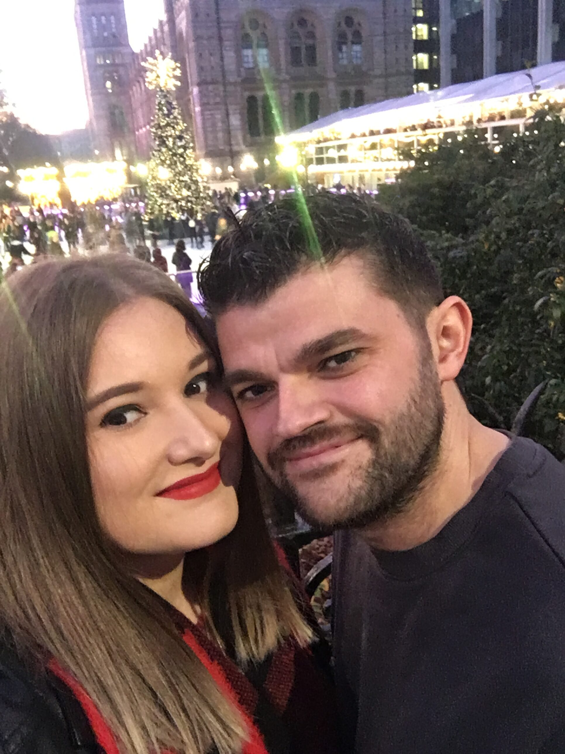 Millie and fiance have both signed up as NHS volunteers