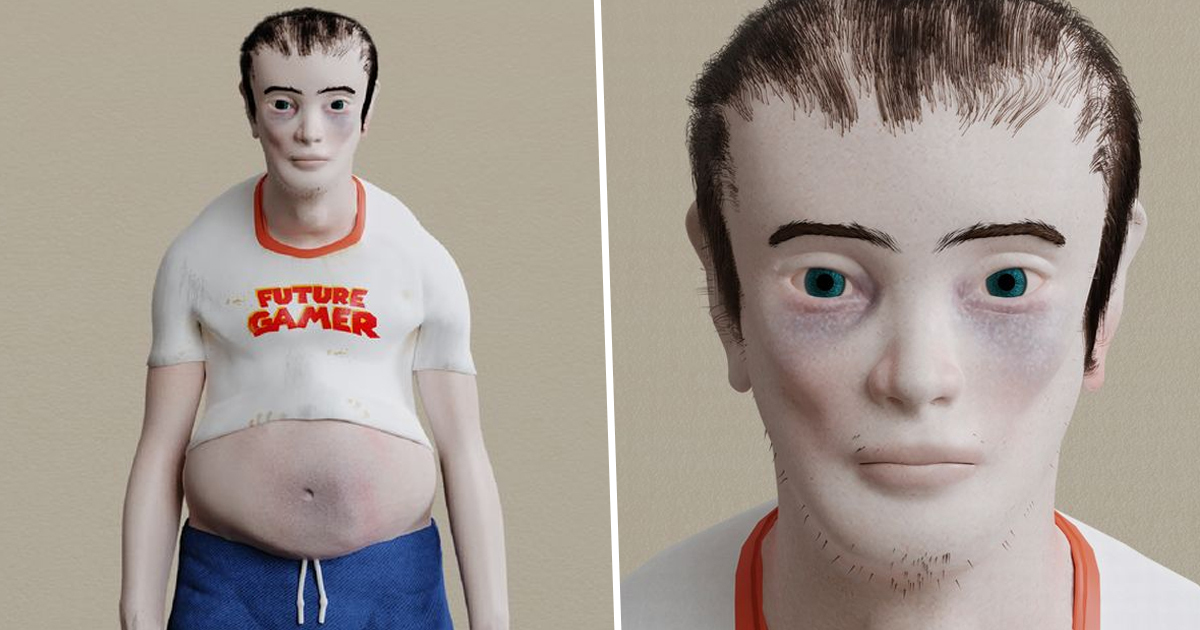 Monstrous Dummy Shows What Gamers Might Look Like In 20 Years