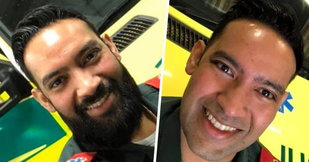 Muslim Paramedic Shaves Off Beard To Protect Others By Wearing Mask