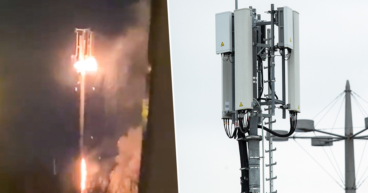 Phone Masts Set On Fire Following False 5G Conspiracy Theory