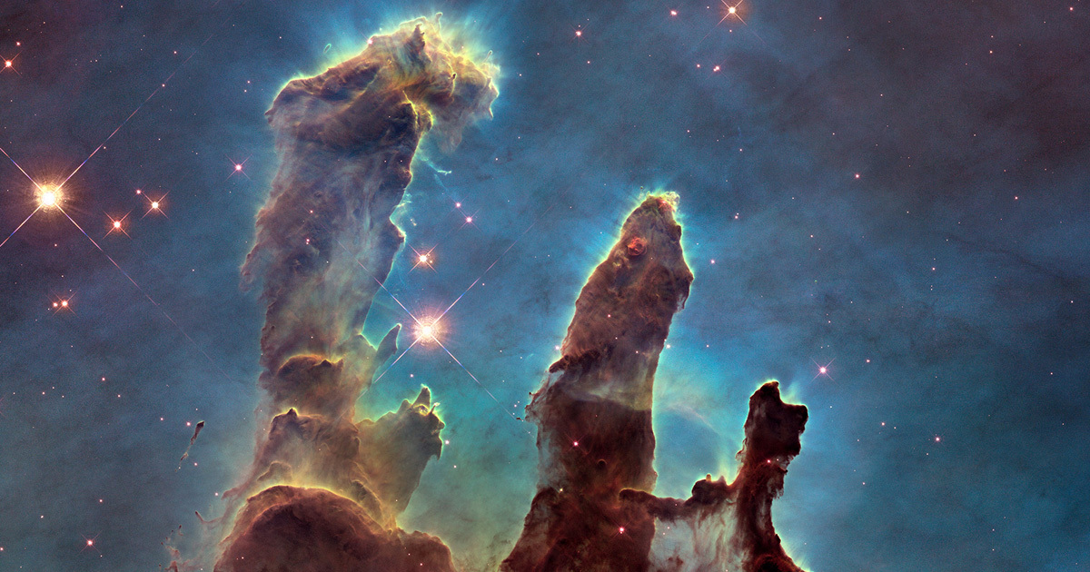 Hubble Telescope Captures Mighty Baby Stars That Will ...
